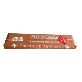 TABLETA CHOCOLATE CAFE CON LECHE 300 GRS. PAZO DE CORUXO